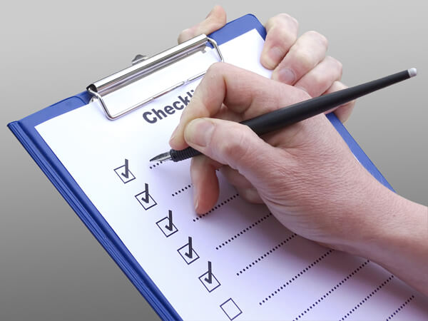 corrective action checklist